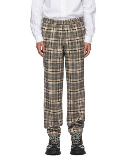 Брючные прямые черные прямые брюки стрейч Schnaydermans