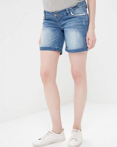 Синие джинсовые шорты Mama.licious