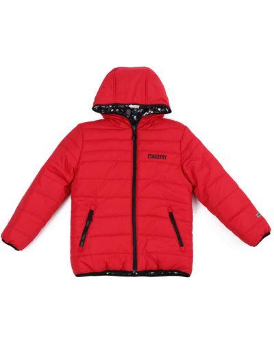 Куртка двусторонняя красная Playtoday Long Size