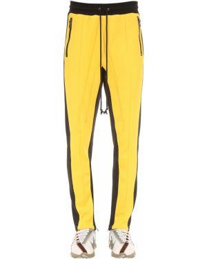 Żółte spodnie Dim Mak Collection