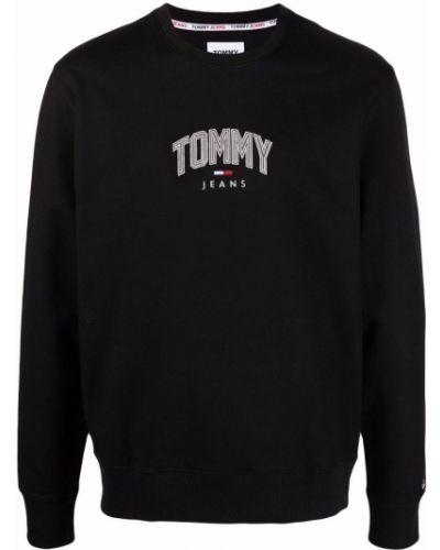 Черная кофта с вырезом Tommy Hilfiger