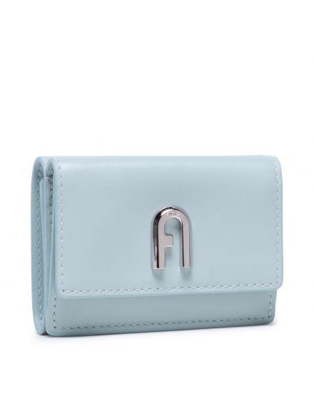 Niebieski portfel Furla