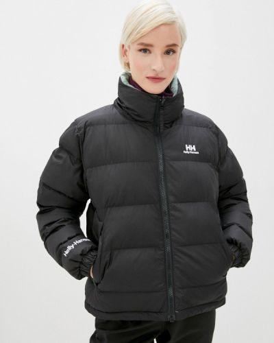 Черная утепленная куртка Helly Hansen