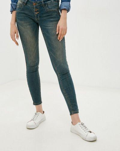 Синие джинсы-скинни узкого кроя Fresh Made