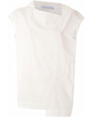 Блузка с короткими рукавами - белая Mara Mac