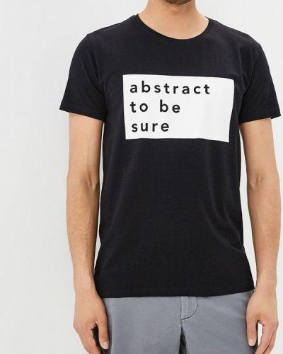 Черная футболка Lindbergh
