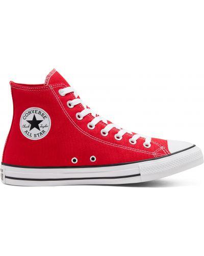 Красный топ Converse