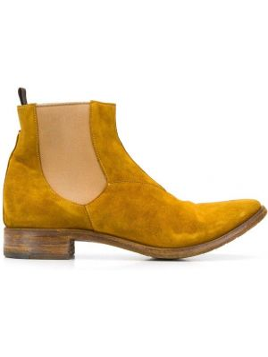 Buty skórzane brązowe chelsea Premiata