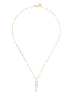 Ожерелье - желтое Simone Rocha