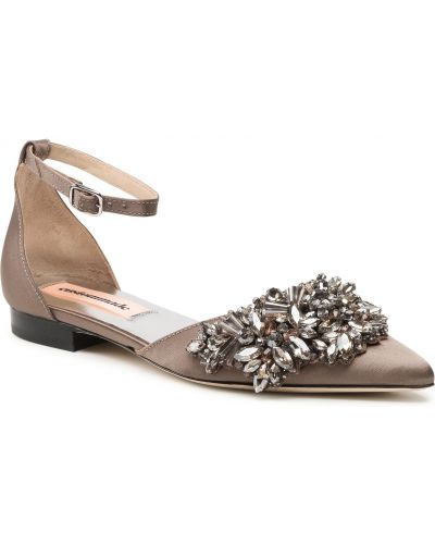 Brązowe sandały na lato Custommade