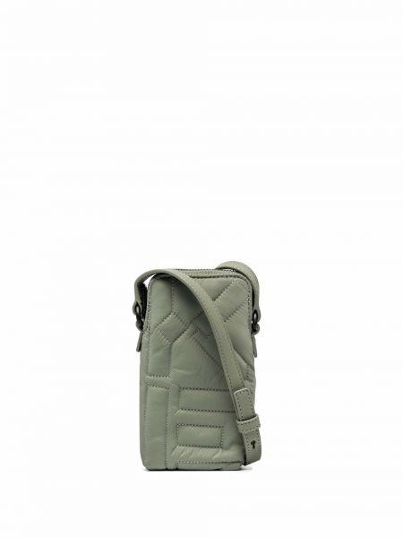 Нейлоновая сумка через плечо - зеленая Kenzo
