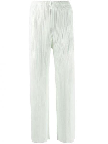 Плиссированные брюки с воротником Issey Miyake Pre-owned