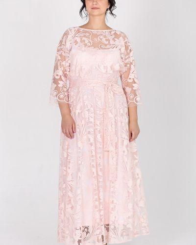 Платье с поясом на бретелях на торжество Filigrana
