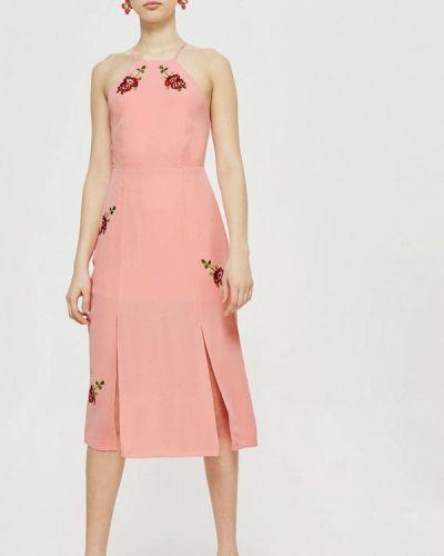 Розовое платье Topshop