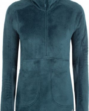 Спортивный синий джемпер с капюшоном на молнии Mountain Hardwear