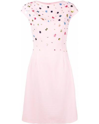 Платье мини розовое миди Escada