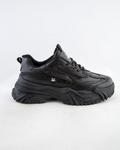 Черные зимние кроссовки Meitesi