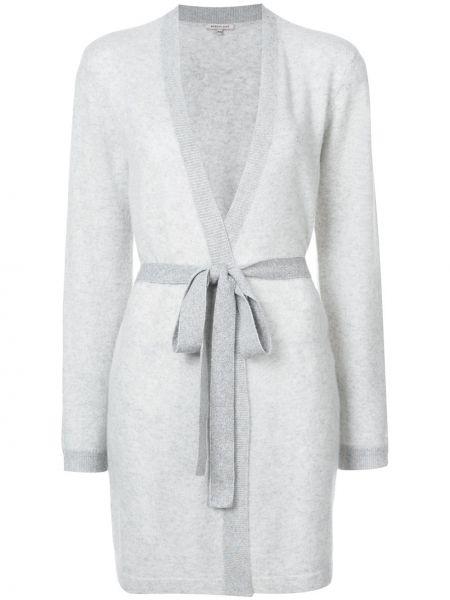 Халат с запахом серый Morgan Lane
