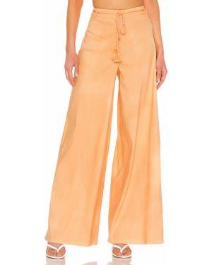 Klasyczne spodnie jasny kolor sezon półroczny L'academie