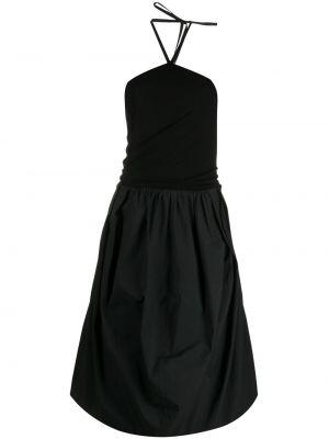 Хлопковое платье - черное Jw Anderson