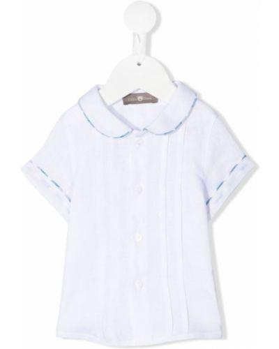 Lniana biała koszula - biała Little Bear
