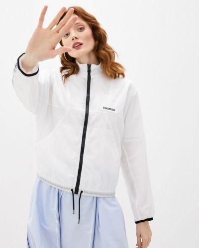 Облегченная белая куртка Bikkembergs