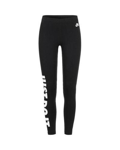 Спортивные брюки с поясом хлопковые Nike