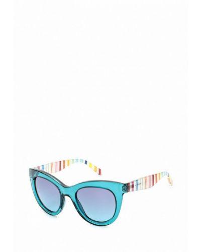 Бирюзовые солнцезащитные очки Tommy Hilfiger
