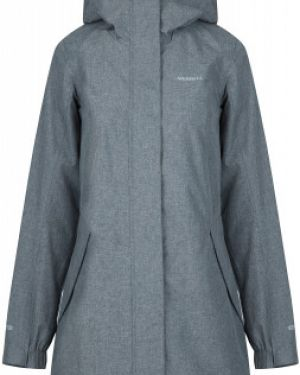 Прямая серая куртка с капюшоном на молнии с карманами Merrell