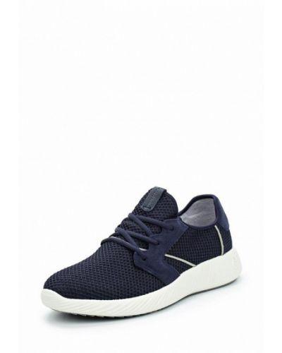 Синие кроссовки замшевые Marc O'polo