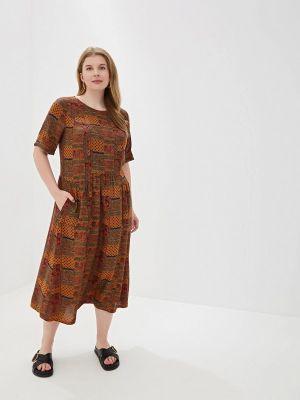 Платье - коричневое Forus