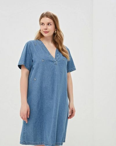 Джинсовое платье весеннее итальянский Kitana By Rinascimento