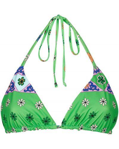Пляжный нейлоновый лиф с завязками Frankie's Bikinis