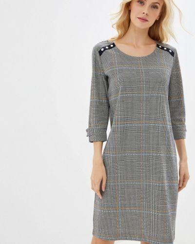 Платье серое прямое Gerry Weber