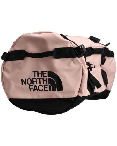 Torba podróżna miejska w paski z nylonu The North Face