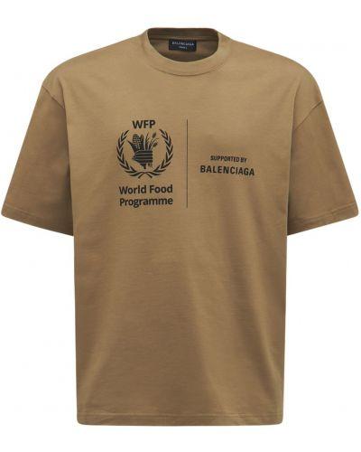 T-shirt bawełniana Balenciaga