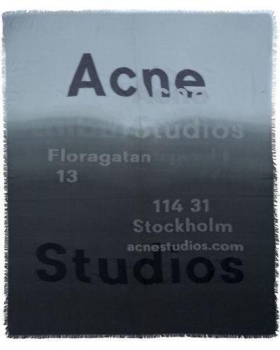 Szalik bawełniany Acne Studios