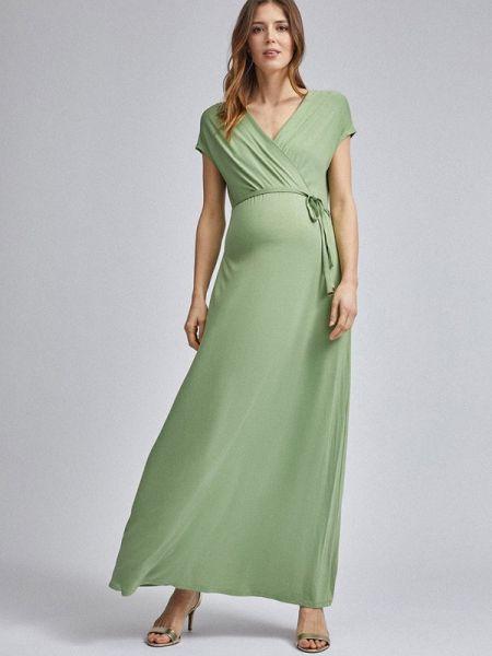 Зеленое платье для беременных Dorothy Perkins Maternity