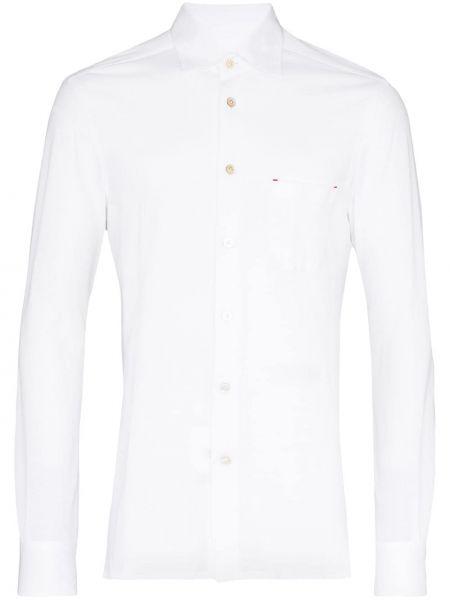 Koszula z długim rękawem klasyczna światło Kiton