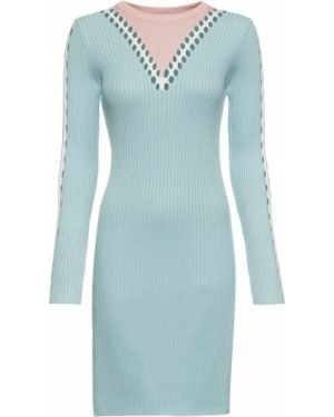 Платье мини вязаное Bonprix