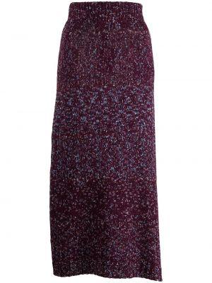 Fioletowa spódnica wełniana Altuzarra