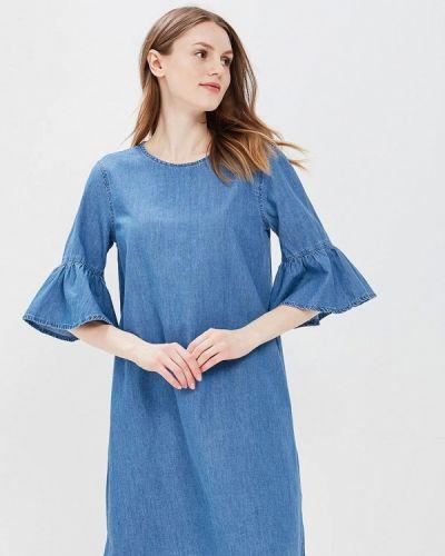 Платье с длинными рукавами джинсовое Incity