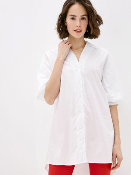 Блузка с коротким рукавом белая весенний Miss Miss By Valentina