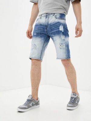Синие зимние джинсовые шорты Terance Kole
