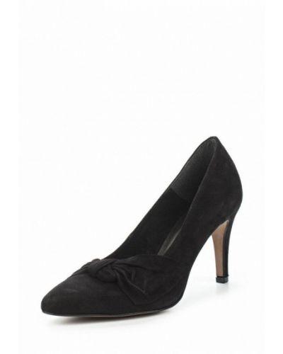 Черные туфли-лодочки Tamaris