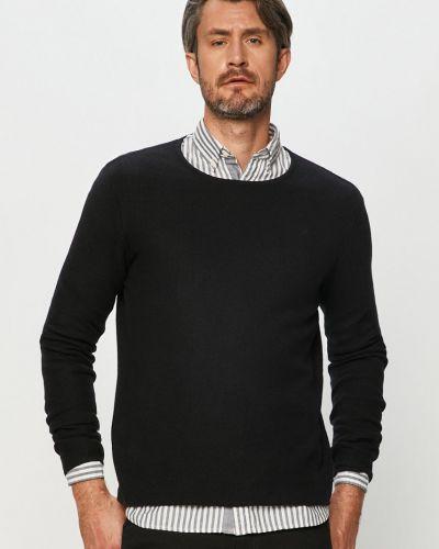 Czarny sweter dzianinowy Clean Cut Copenhagen