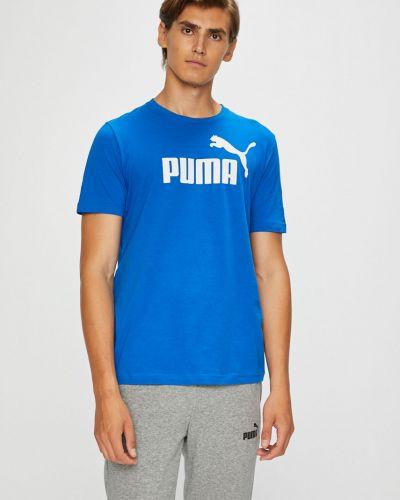 Футболка с принтом хлопковая Puma