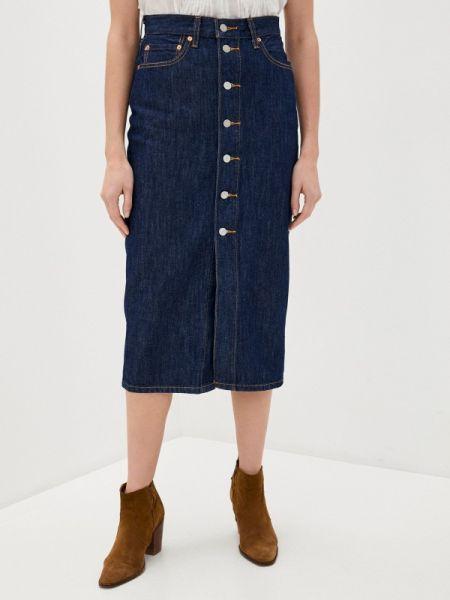 Джинсовая юбка - голубая Levi's®