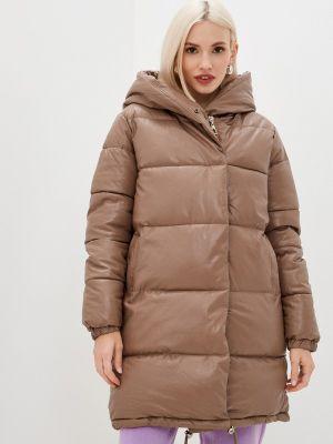 Коричневая куртка осенняя Fadas