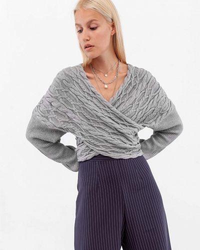 Серый пуловер Dorogobogato